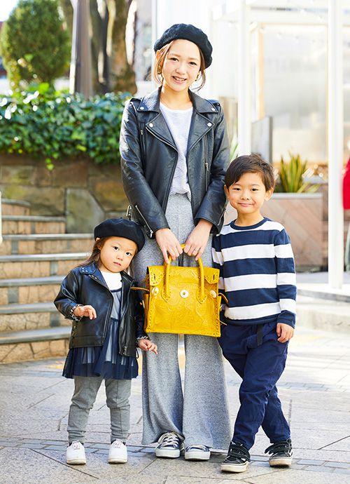 会社員/ハグマグブロガー 石村沙耶さん&春琉くん・5歳、希恋ちゃん・2歳