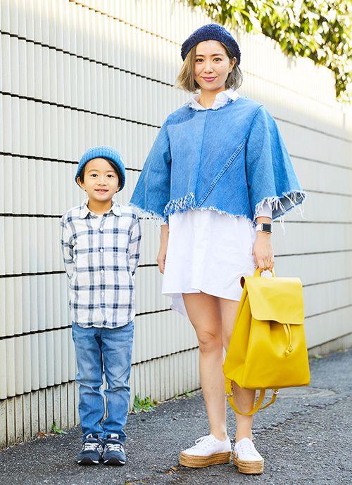 ネイリスト/ハグマグブロガー 板垣 碧さん&亜虎くん・6歳