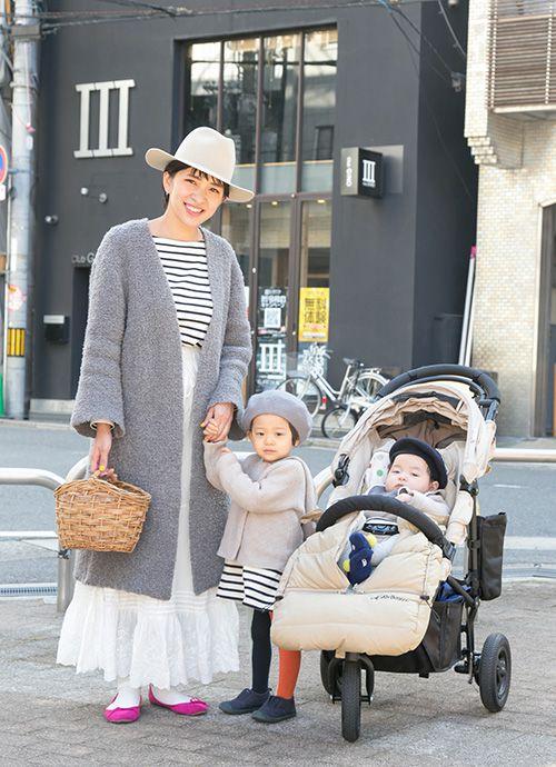 主婦/ハグマグブロガー 佐藤美和さん&ひのせちゃん・2歳、天太くん・0歳