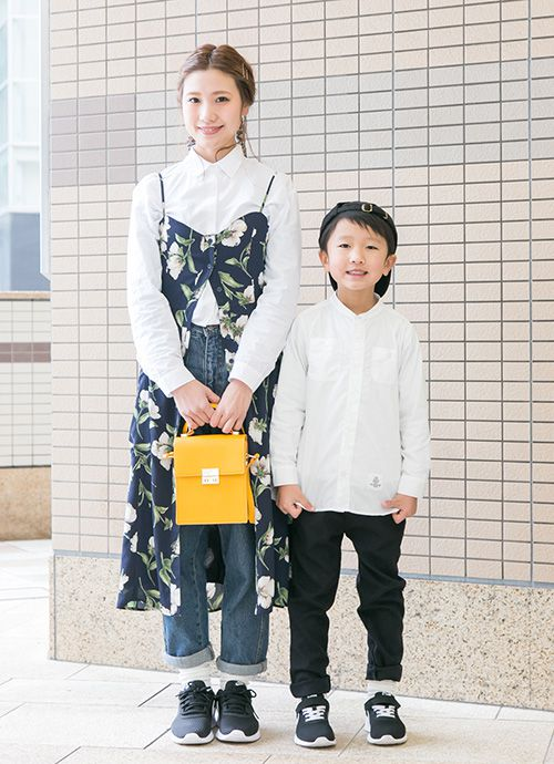 調理師/ハグマグブロガー 小西知佳さん&想くん・7歳