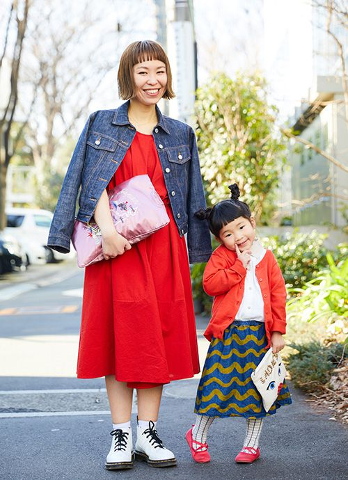 美容師 生方道子さん&亜美ちゃん・4歳