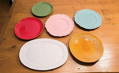 吉沢窯や『212 KITCHEN STORE』で手に入れたお皿。
