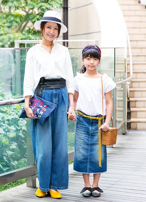 デニム+ホワイト さわやか夏コーデ☆