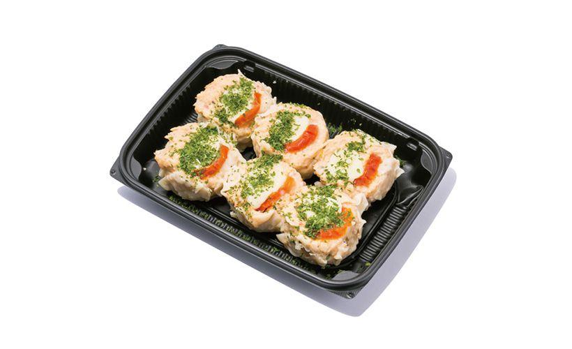 成城石井 自家製 トマトとモッツァレラチーズの鶏焼売