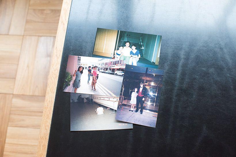 遙子さんのニューヨーク留学時の写真。コツコツと続けること、繰り返しの大切さをくもんで学び、この経験が広く生かされ、その後の仕事や育児にも役立っています。