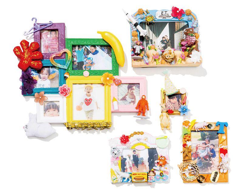 子どものおもちゃをデコレーション