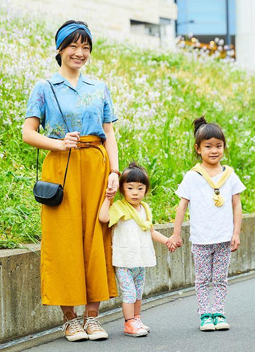 黄色と花柄で南国行きたい。。。