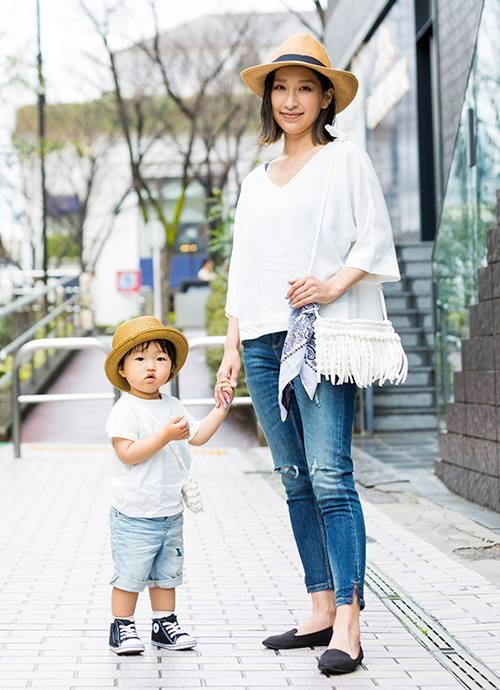 手作り小物でリンクコーデ☺ プチプラファッションで思いっきりお外遊び!!