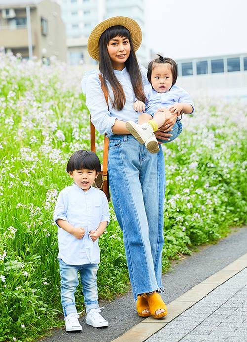 H&Mでさわやか! 大草原のハイジ風