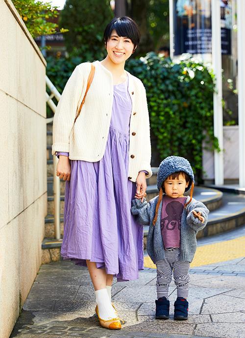 紫リンクのほっこりコーデ☆