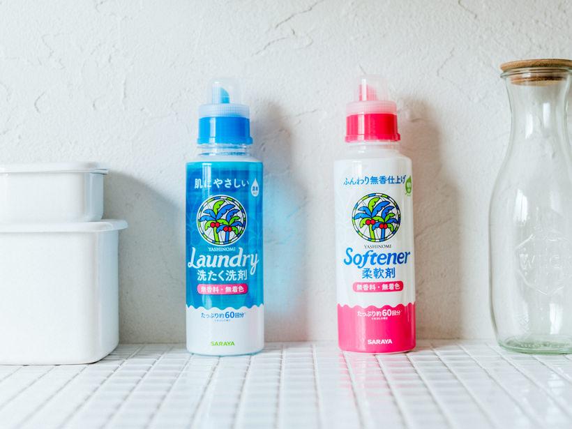 容量が増えてさらに使いやすくなった「ヤシノミ洗たく洗剤」