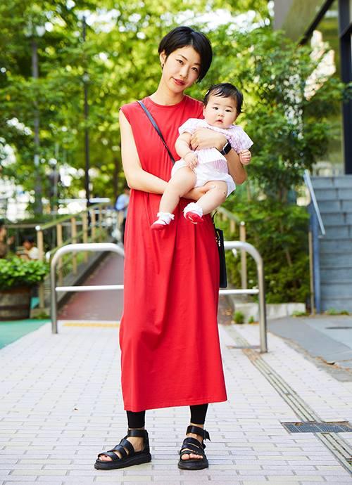 カッコ☆かわいい シンプルの中にオシャレを☆ 赤とピンクで