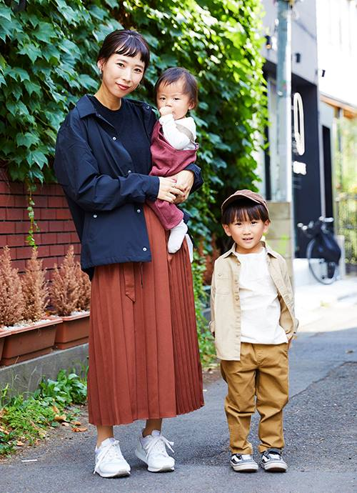 家族で秋カラーでプチプラコーデ