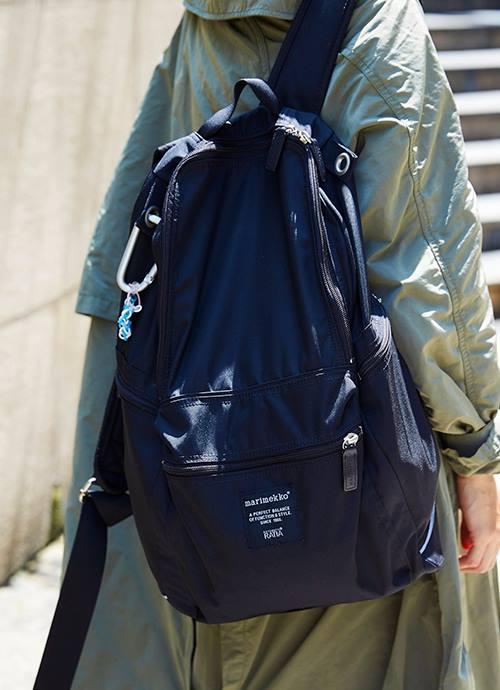 バッグパックを選んでアウトドア感を後押し!