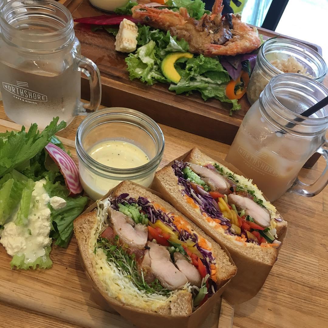 ほぼ野菜サンドイッチ