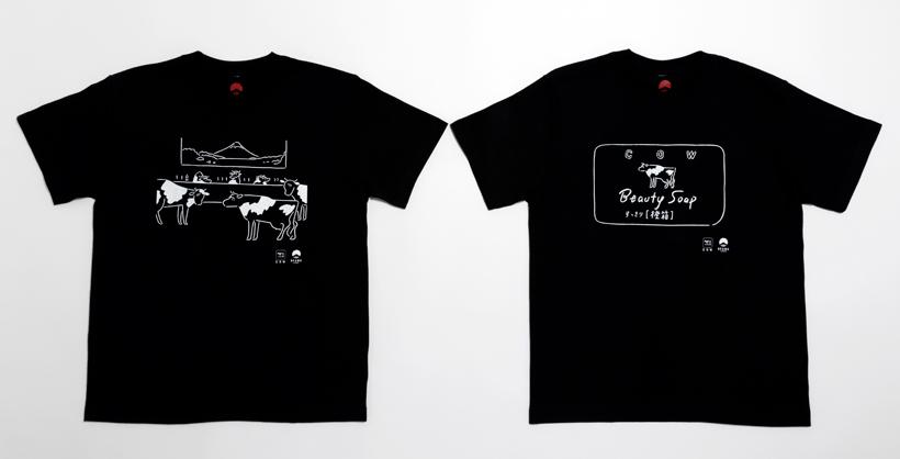 ビームスジャパンと牛乳石鹼のコラボTシャツ