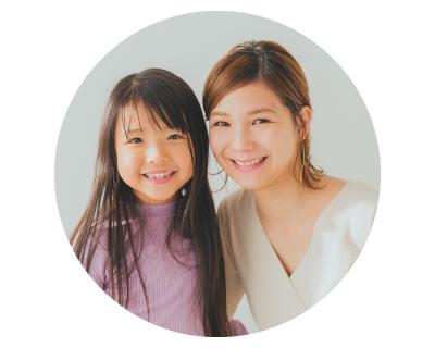 栢菅さん親子(ママと女の子)