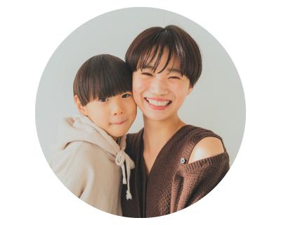 木村さん親子(ママと男の子)