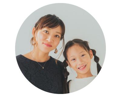 小村さん親子(ママと女の子)