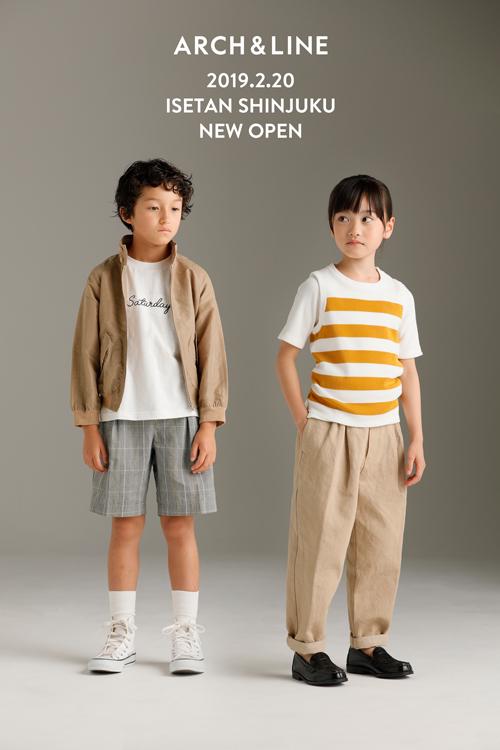 アーチ&ラインの伊勢丹新宿店オープン