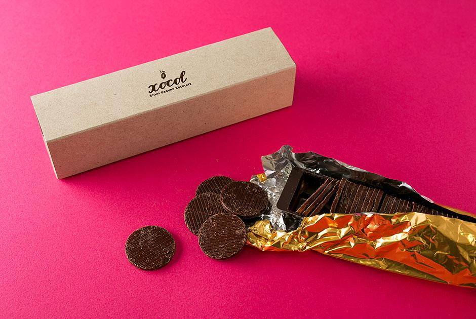 ショコルのコイン型チョコレート