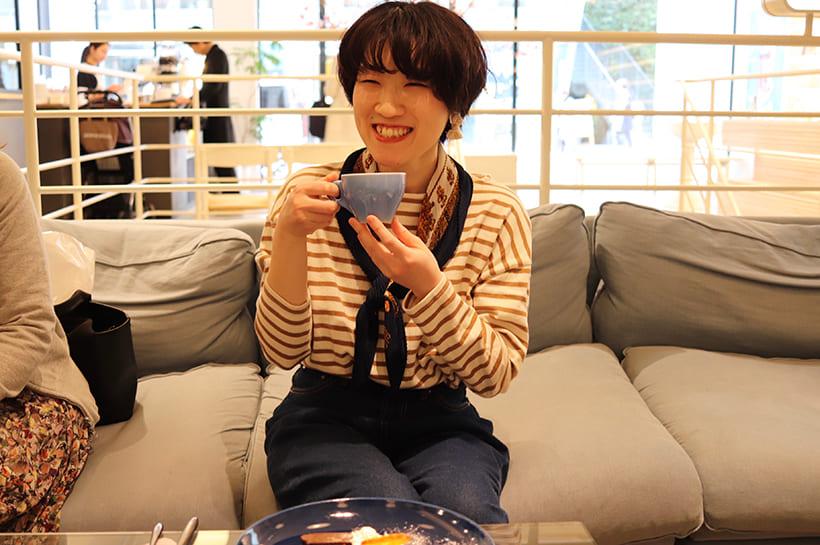 shiro cafeソファ席