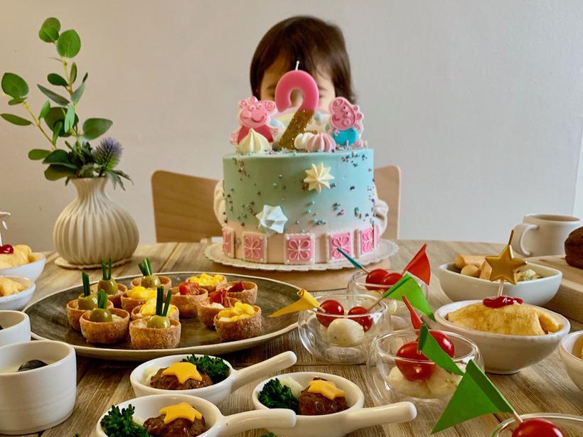 MEGさんの子どもの誕生日パーティー