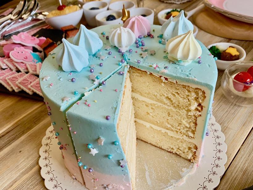 MEGさんの子どもの誕生日ケーキ