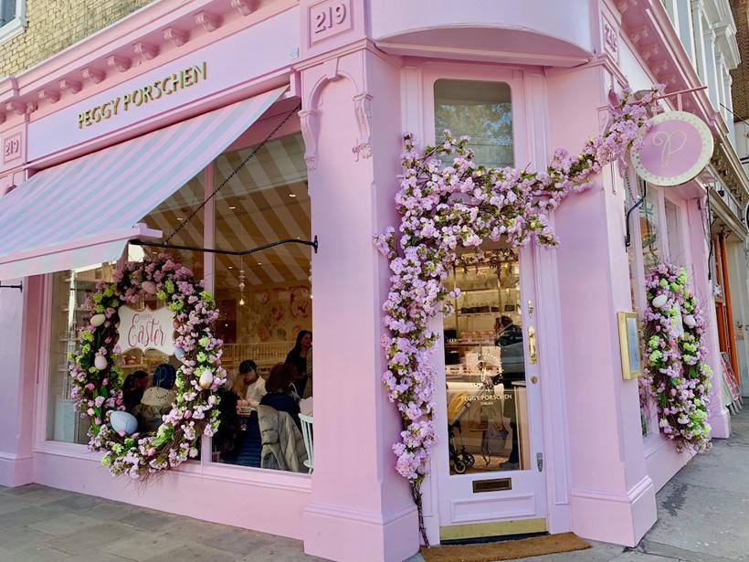 ロンドンのカップケーキ屋PEGGY PORSCHEN