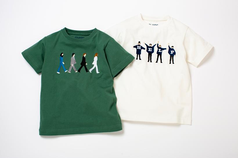 ビートルズ×シップスのキッズTシャツ