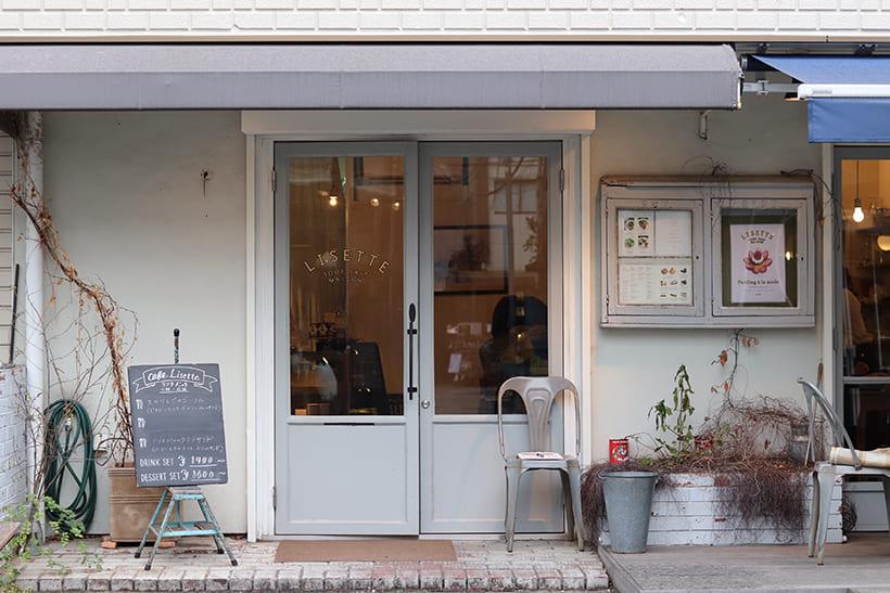 二子玉川駅から徒歩2分ほどの『Cafe Lisette』