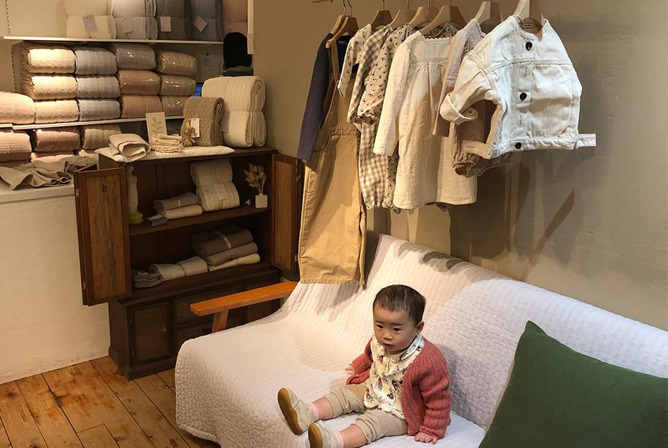 佐藤さんがおすすめする東京のベビー連れにやさしいカフェ&ショップ