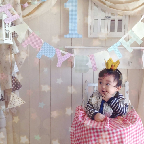 Happy 1st birthday ♪